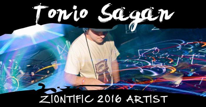 Ziontific Summer Solstice Music Festival 6 — Vermont — Artist Tonio Sagan