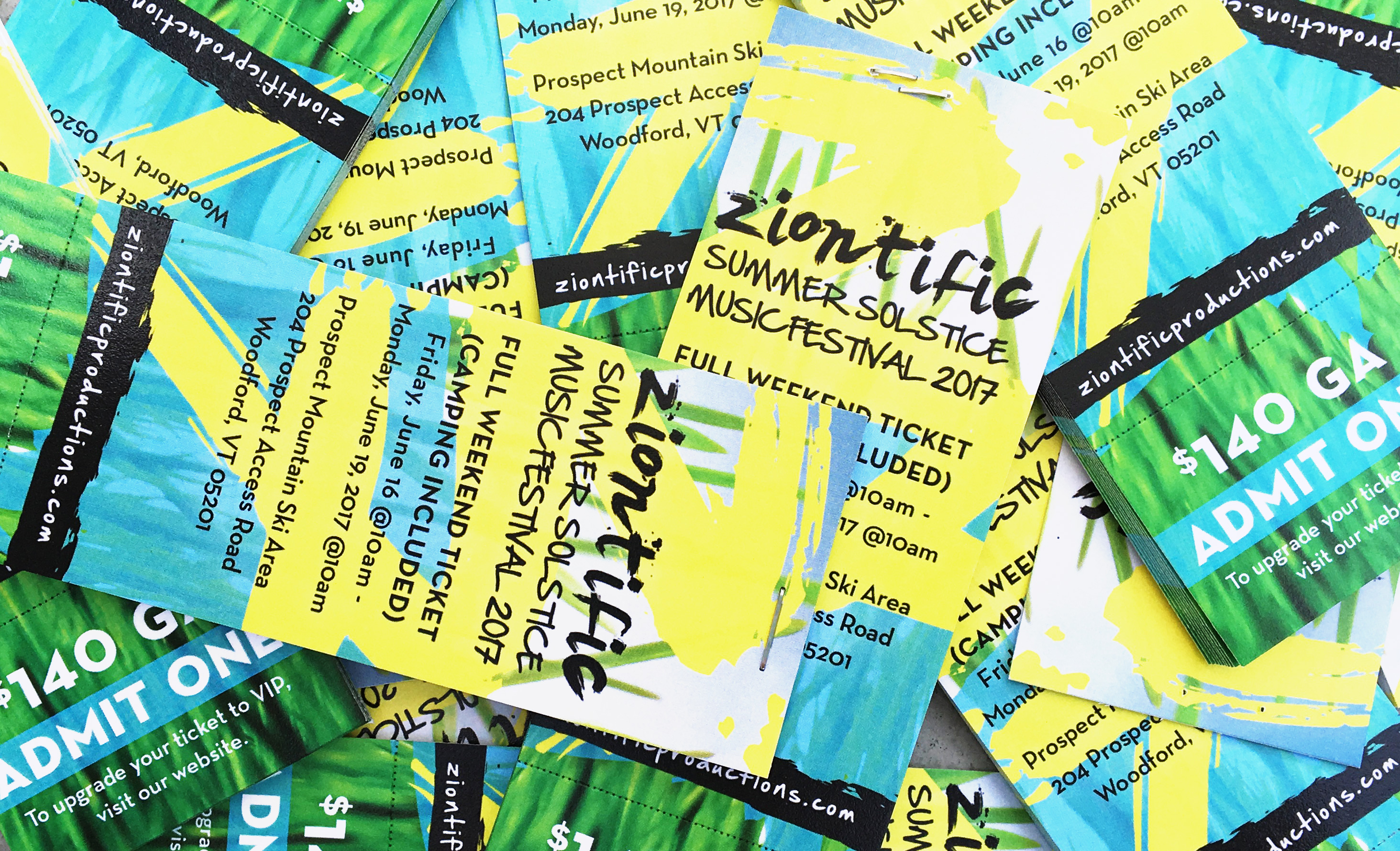 Ziontific Summer Solstice Music Festival Tickets