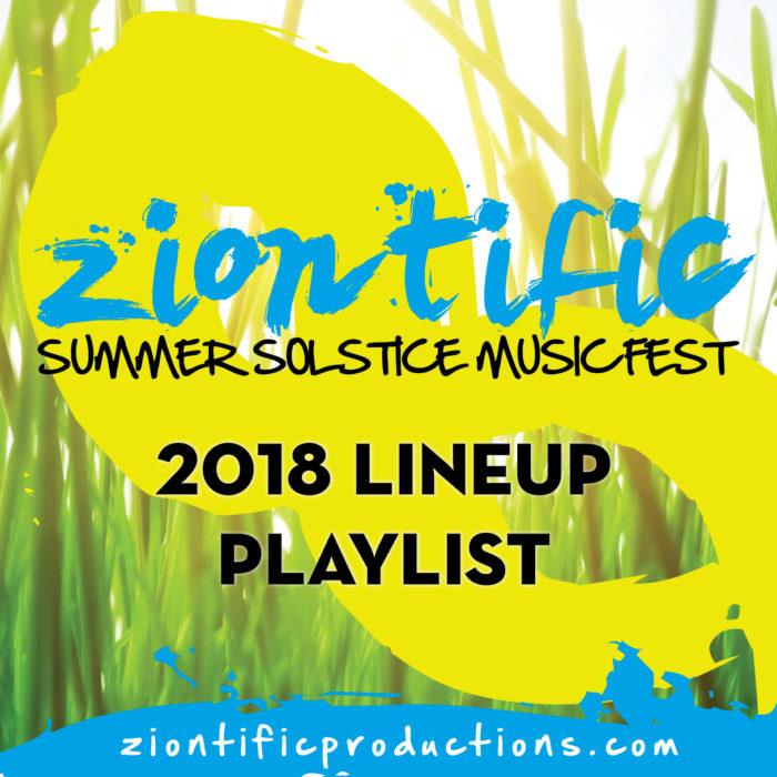 Ziontific 2018 Lineup Playlist icon