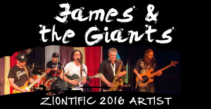 Ziontific Summer Solstice Music Festival 6 — Vermont —  Artist James and the Giants